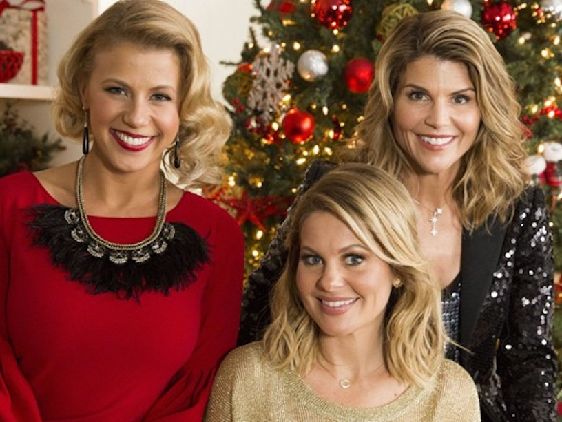 Lori Loughlin, Jodie Sweetin, Candace Cameron-Bure for Hallmark Christmas