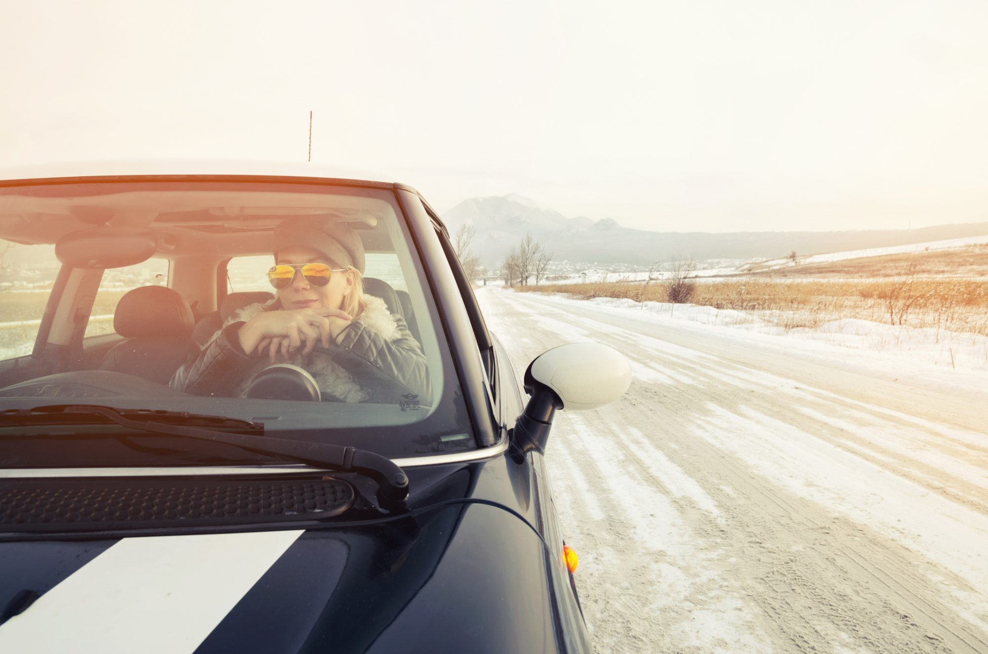 winter road trips from la