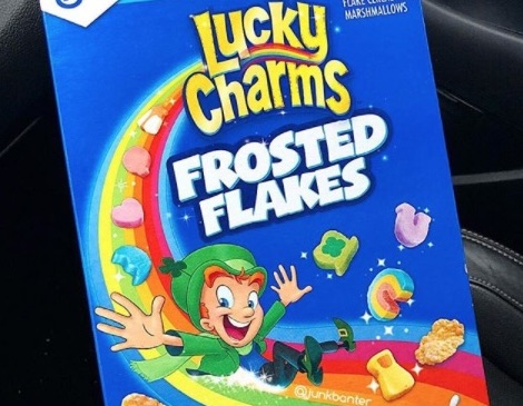 Picture of Lucky Charms Frosted Flakes Cereal