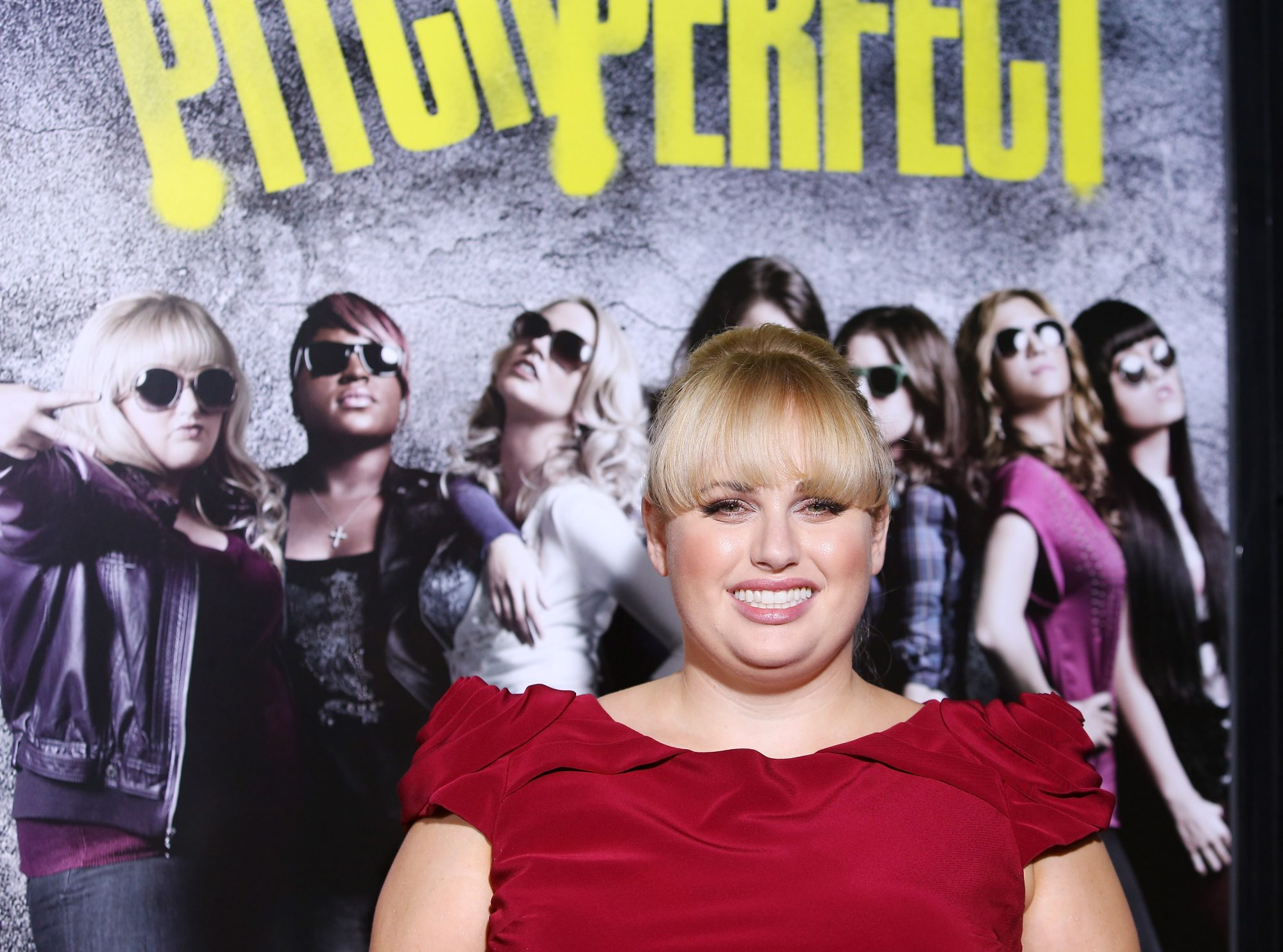 Photo of Rebel Wilson at Pitch Perfect Premiere