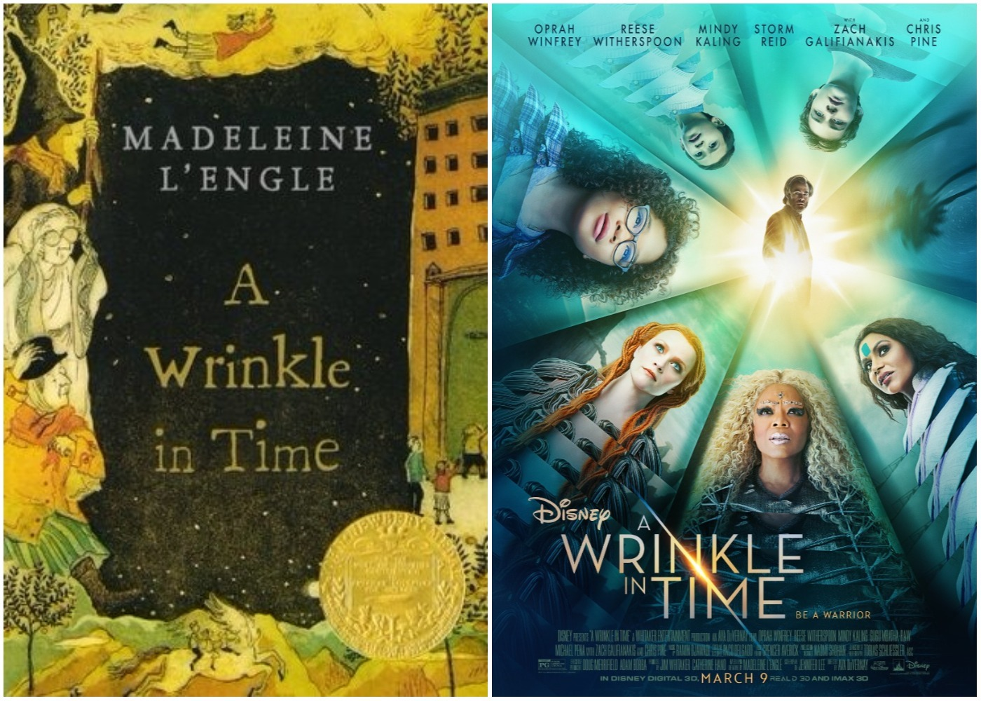 Picture of A Wrinkle in Time Book Movie