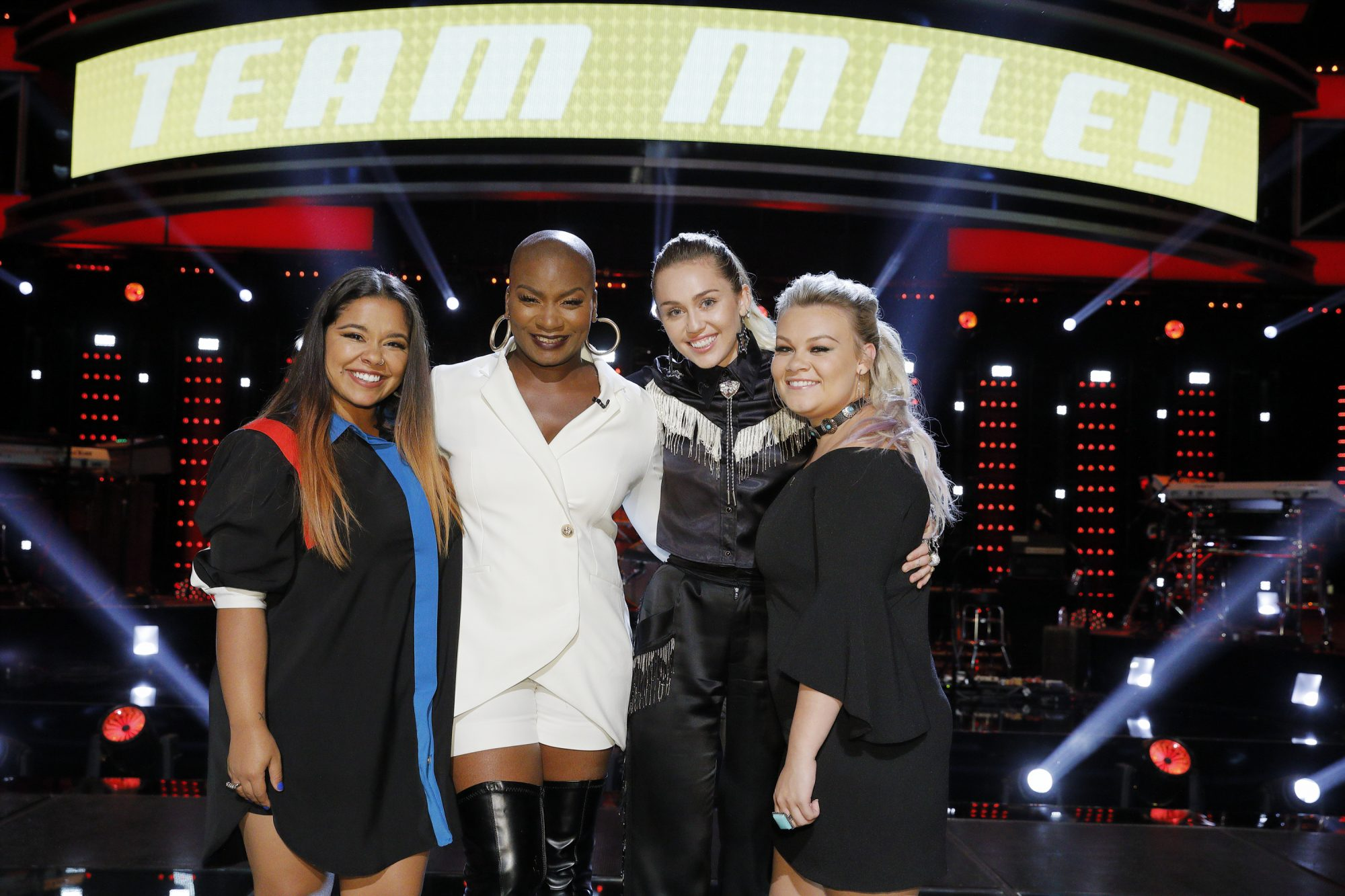 "Photo of Team Miley on Season 13 of ""The Voice"""
