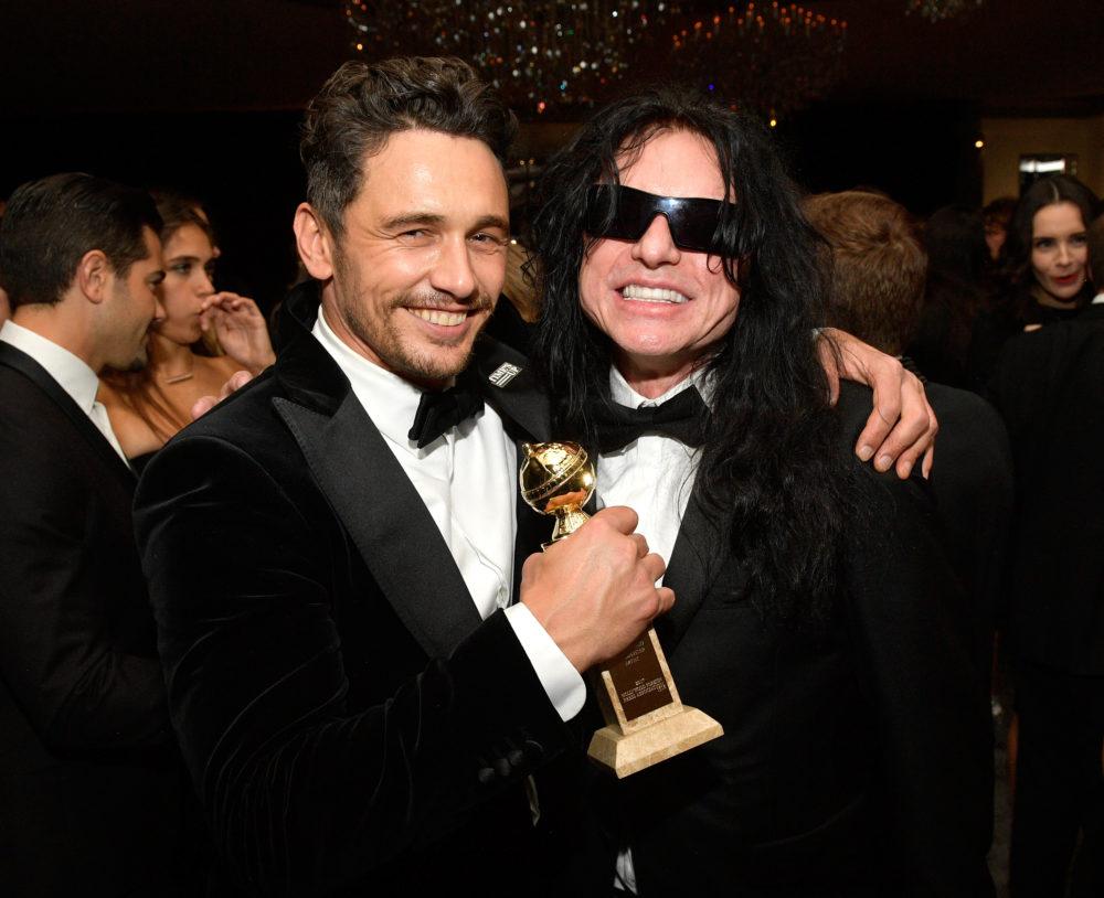 James Franco Tommy Wiseau Golden Globes