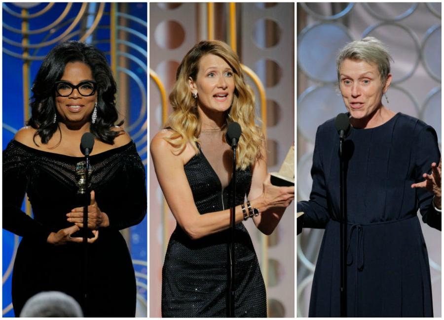 women speeches golden globes