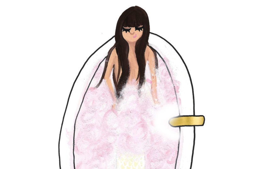 bubble bath mermaid