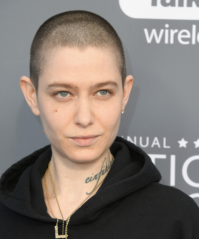 Asia Kate Dillon at 2018 Critics Choice Awards