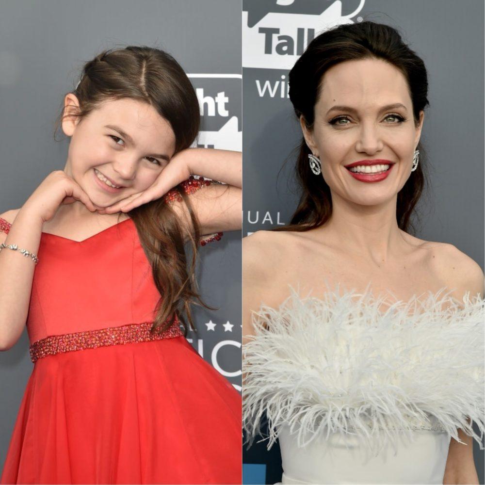 Angelina Jolie Brooklynn Prince