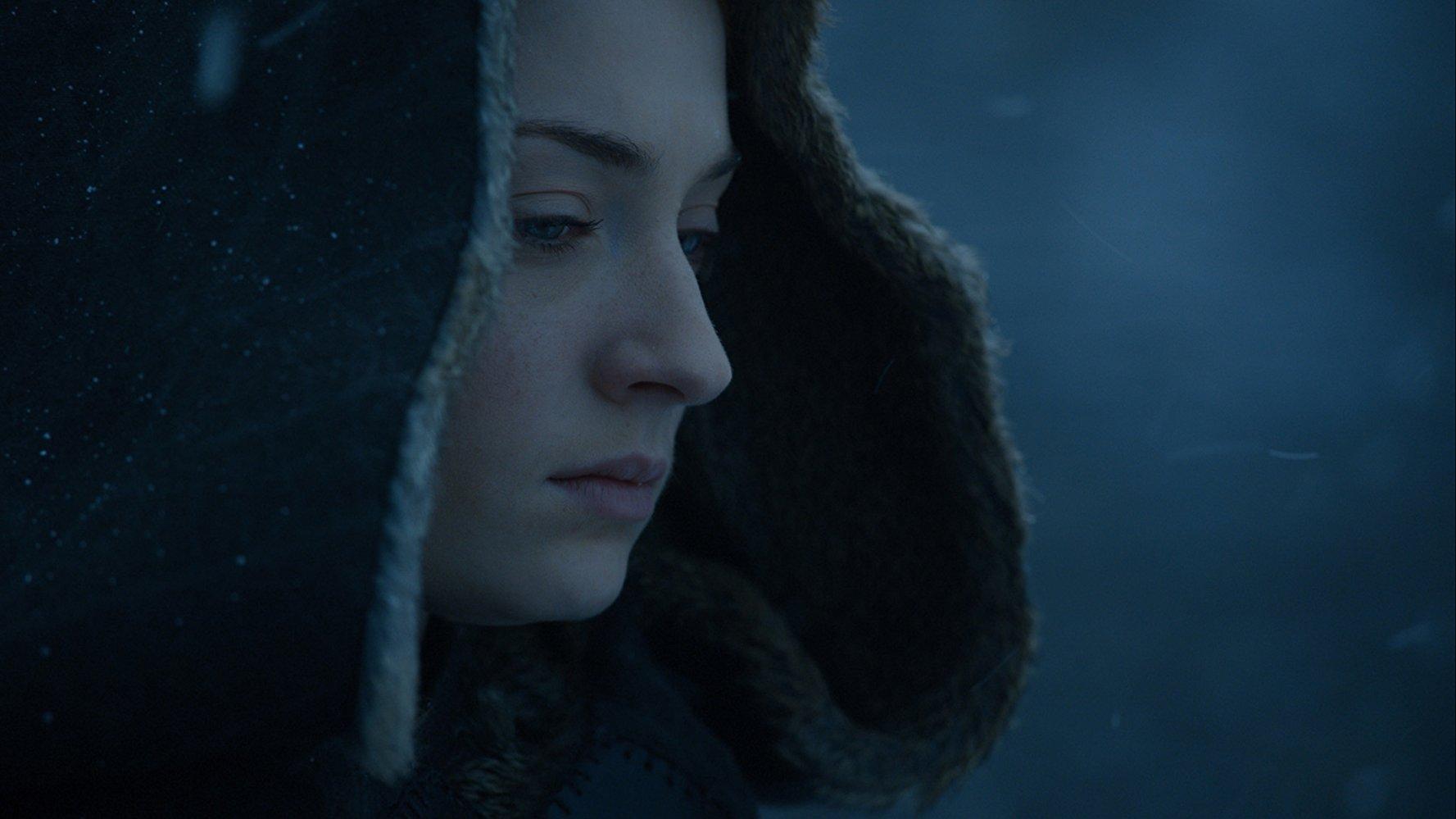 "Photo of Sophie Turner as Sansa Stark in ""Game of Thrones"""