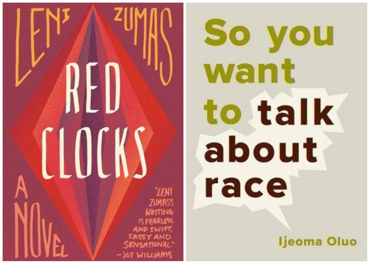 Picture of Red Clocks So You Want to Talk About Race Books