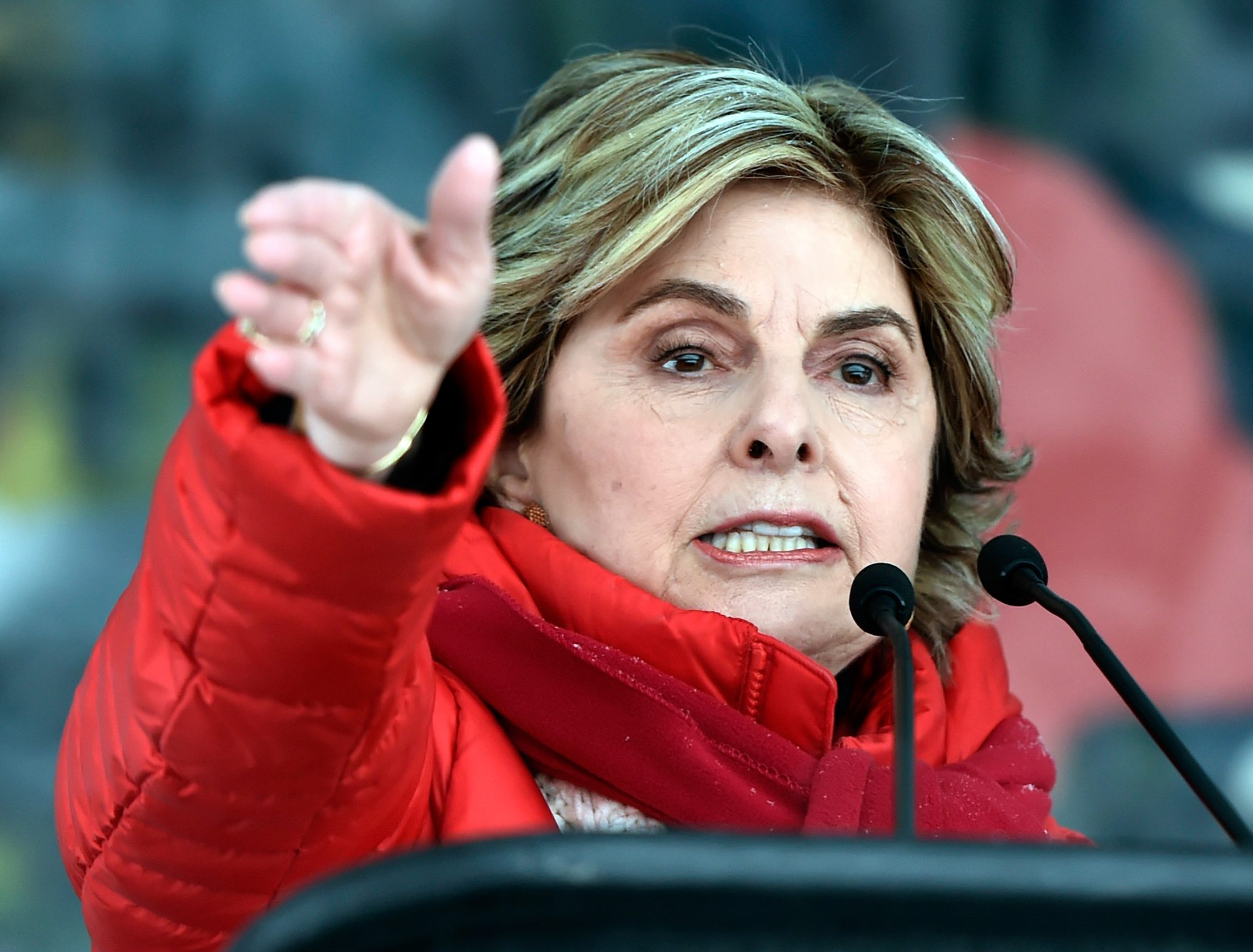 Gloria Allred Renewed Calls for the Equal Rights Amendment During the 2018 Women's March in Park City, Utah