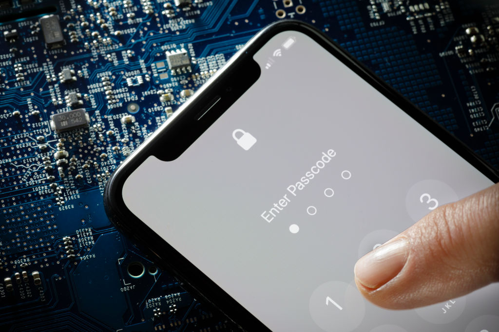 Picture of iPhone Lock