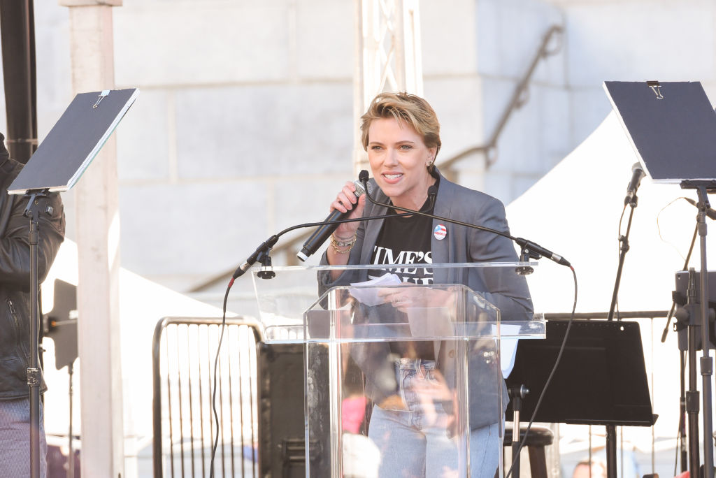 Picture of Scarlett Johansson Women's March