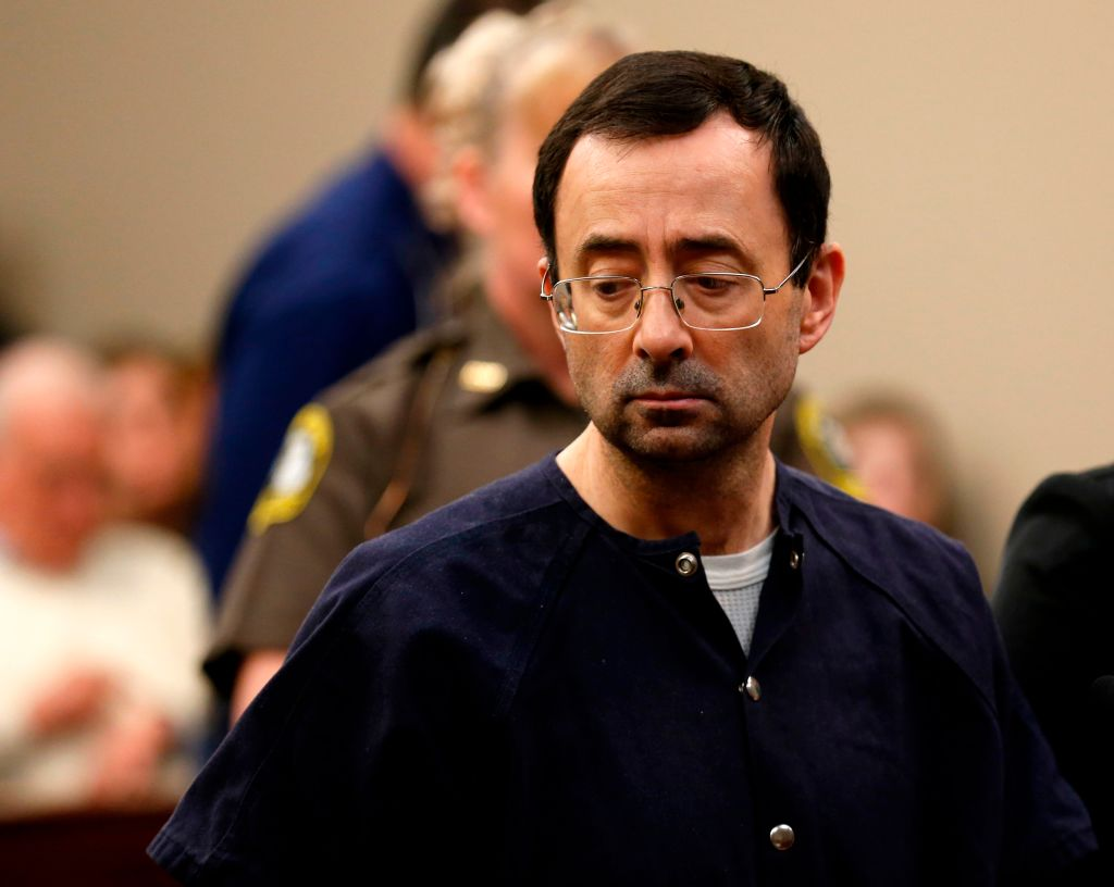 Picture of Larry Nassar Hearing