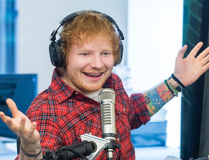 "Ed Sheeran And Jamie Lawson ""The Elvis Duran Z100 Morning Show"""