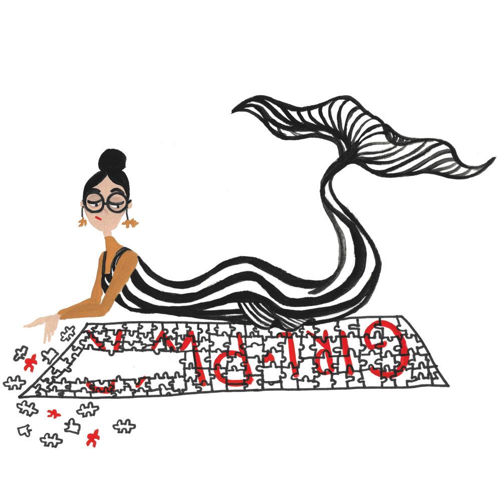 puzzle mermaid