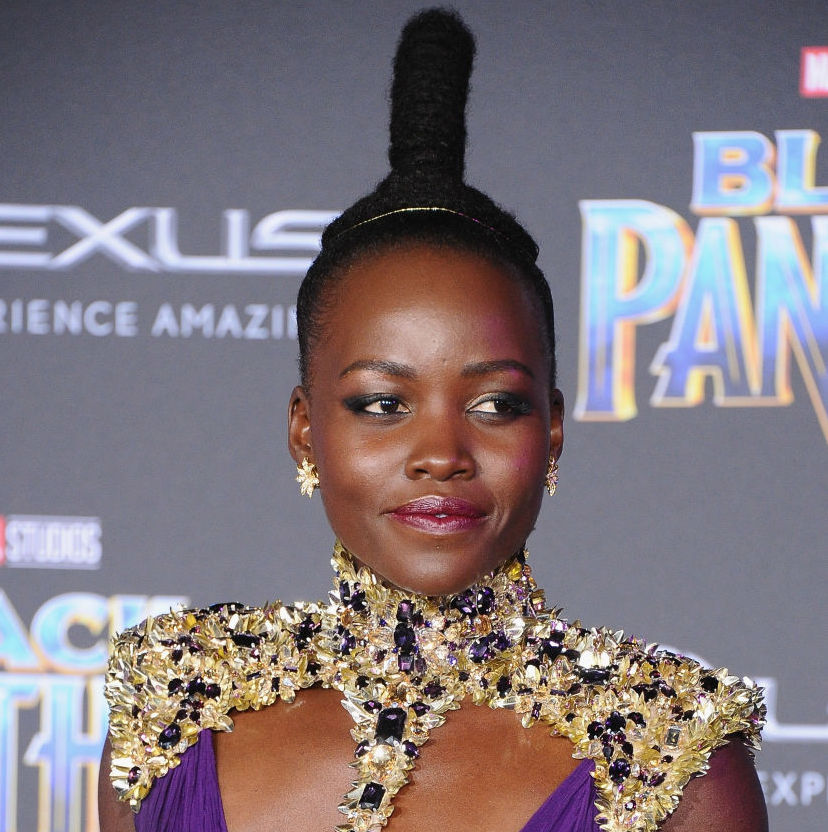 Lupita Nyong'o, Black Panther premiere
