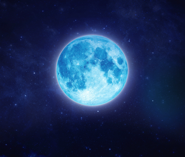 Full blue moon