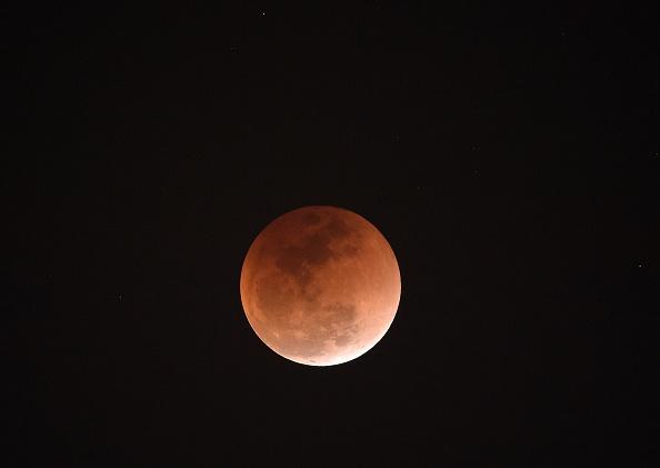 Super blue lunar eclipse
