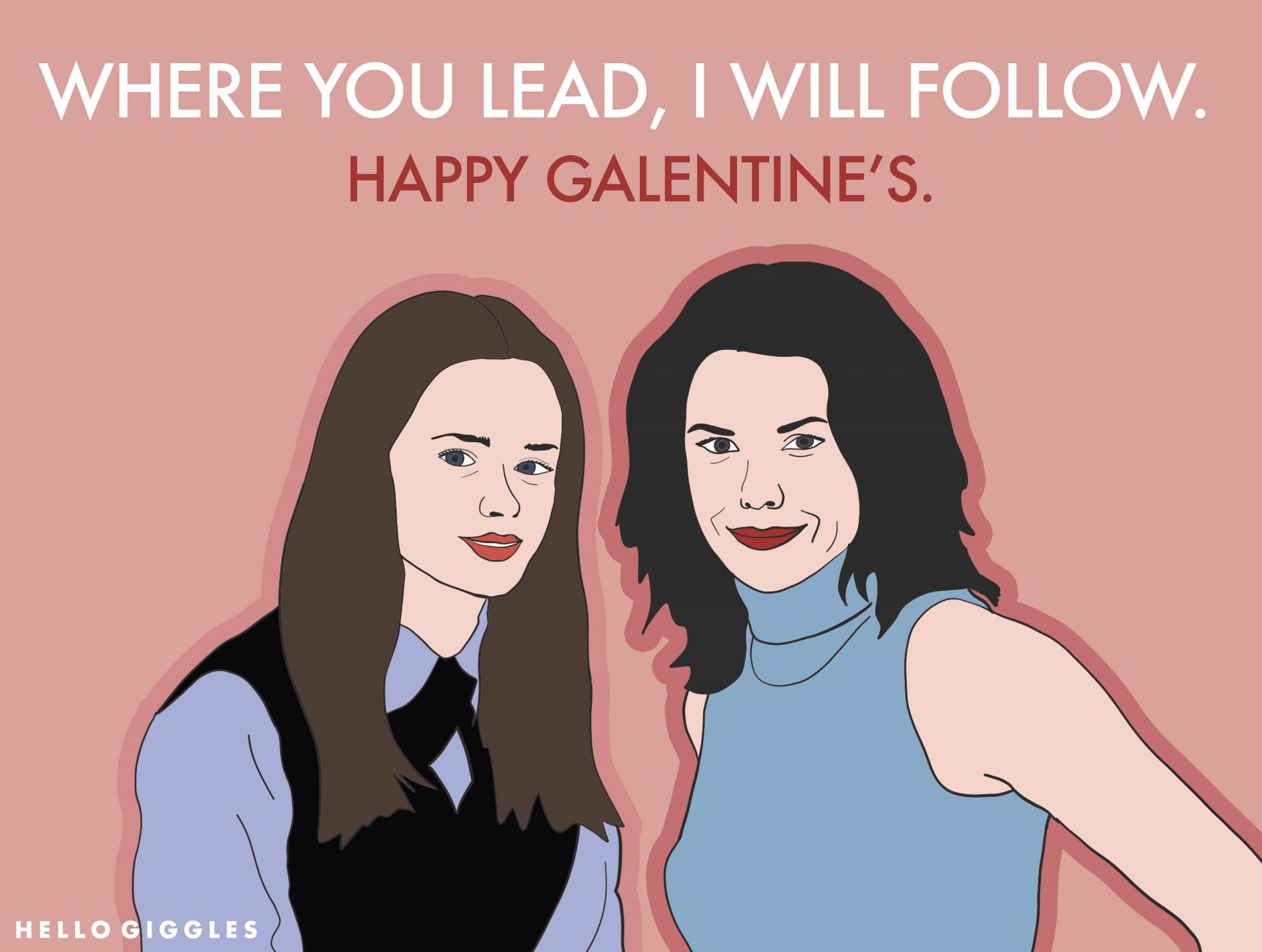 Gilmore Girls Valentine's Card
