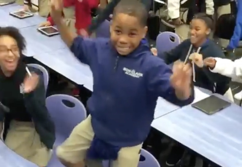 Picture of Black Panther Kids Dancing