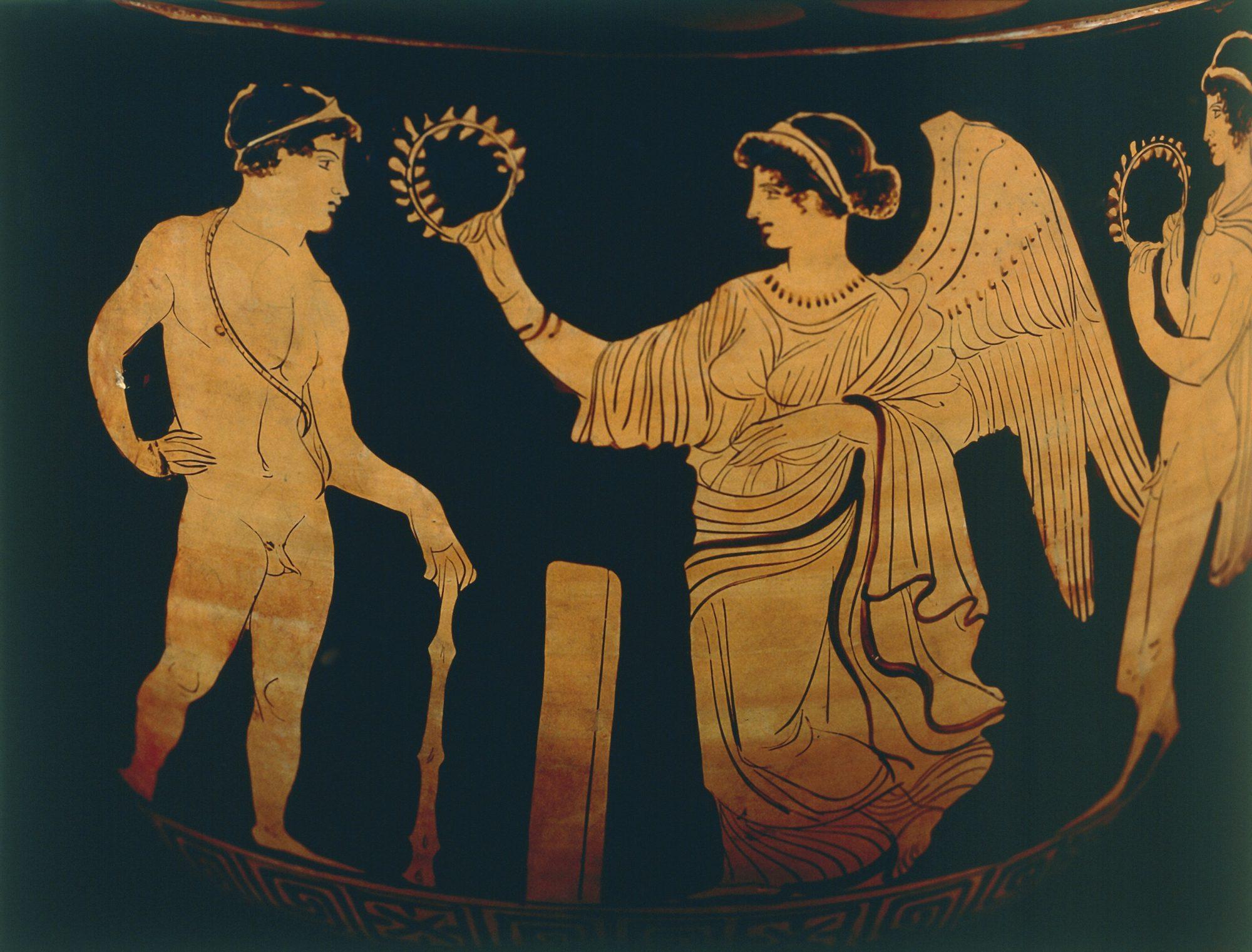 Image of ancient Greek Olympics
