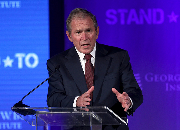 Former President George W. Bush agrees that Russia meddled in the 2016 election