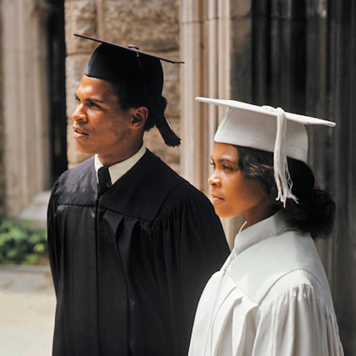 African-American college graduates