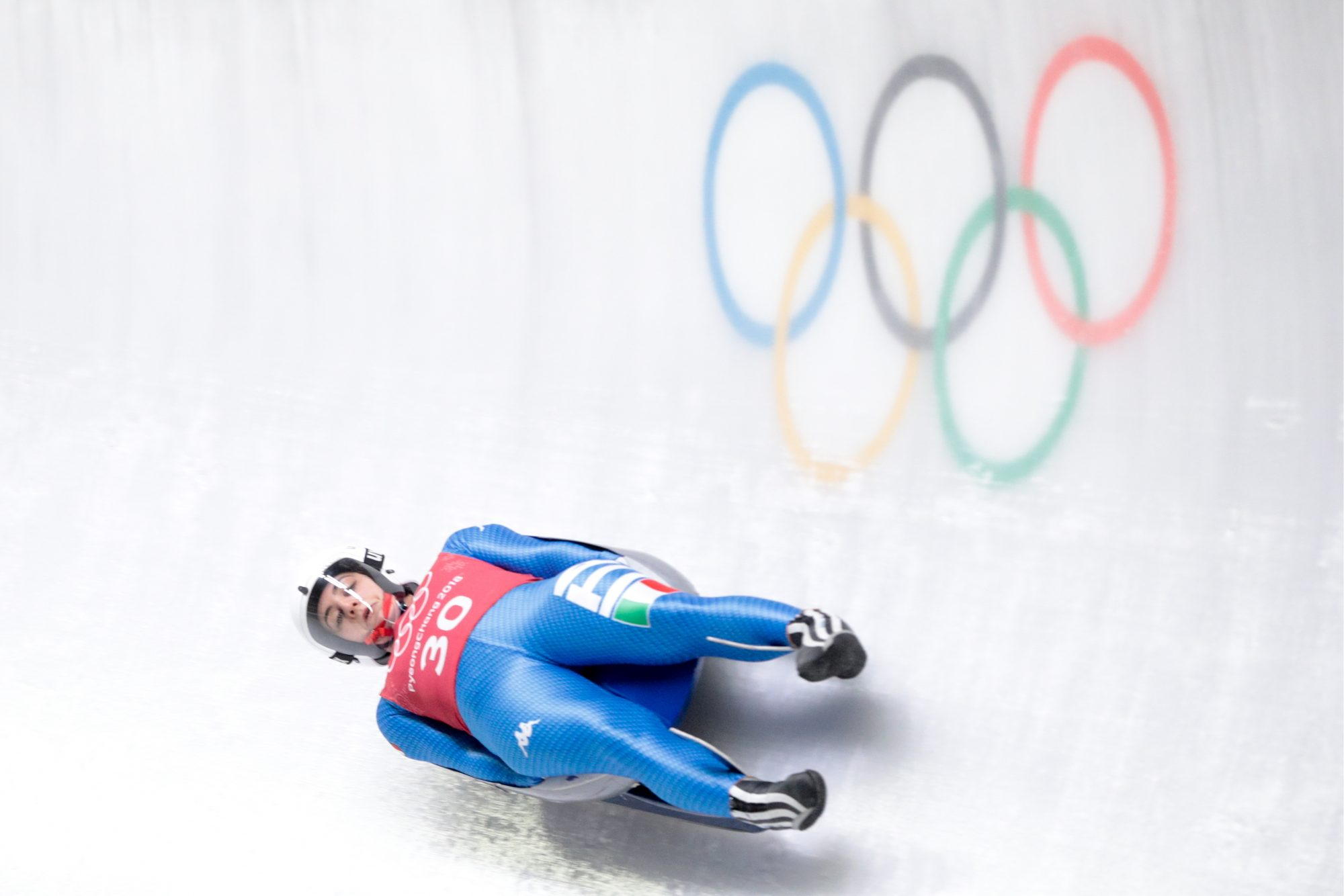 Image of Olympic luger