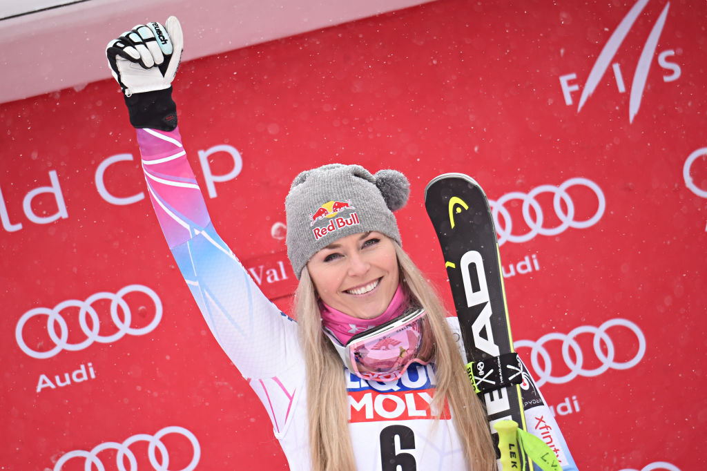 Picture of Lindsey Vonn Injury