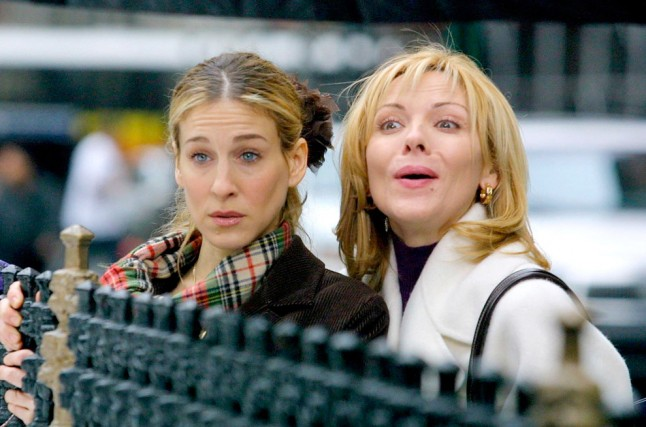 Picture of Kim Cattrall Sarah Jessica Parker