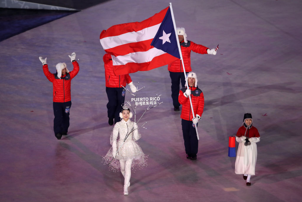Picture of Puerto Rico Olympic Team