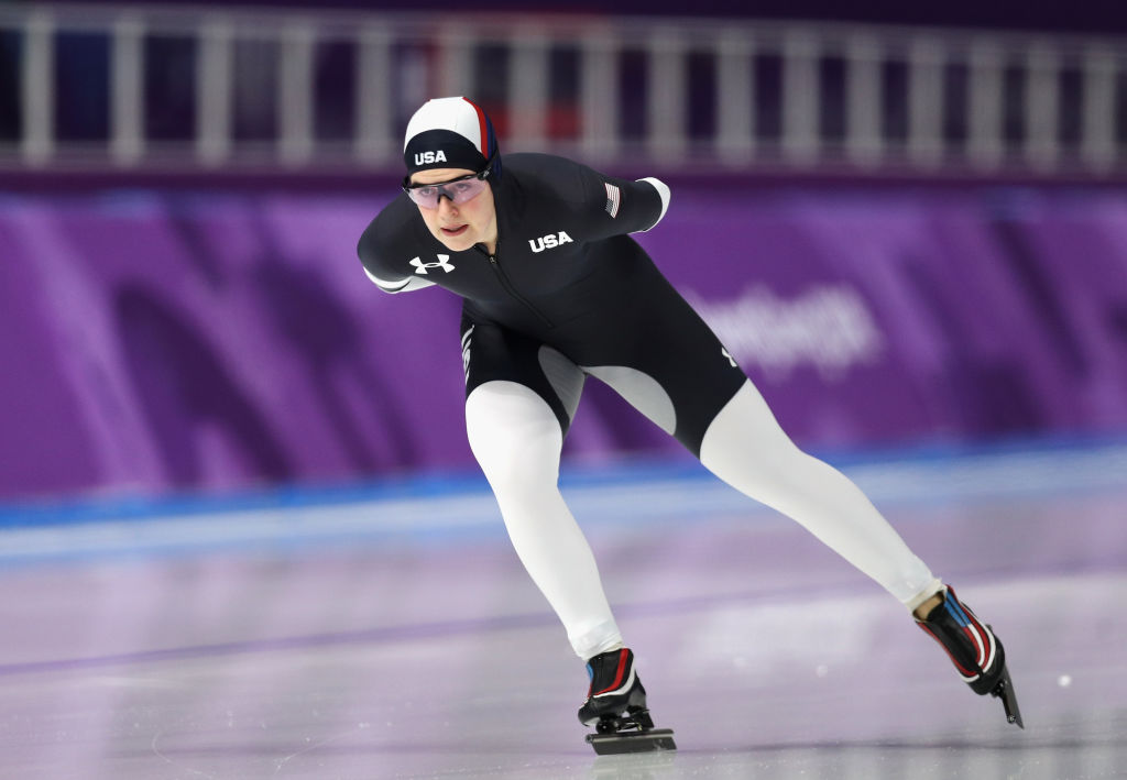 Picture of Team USA Speed Skating Uniforms