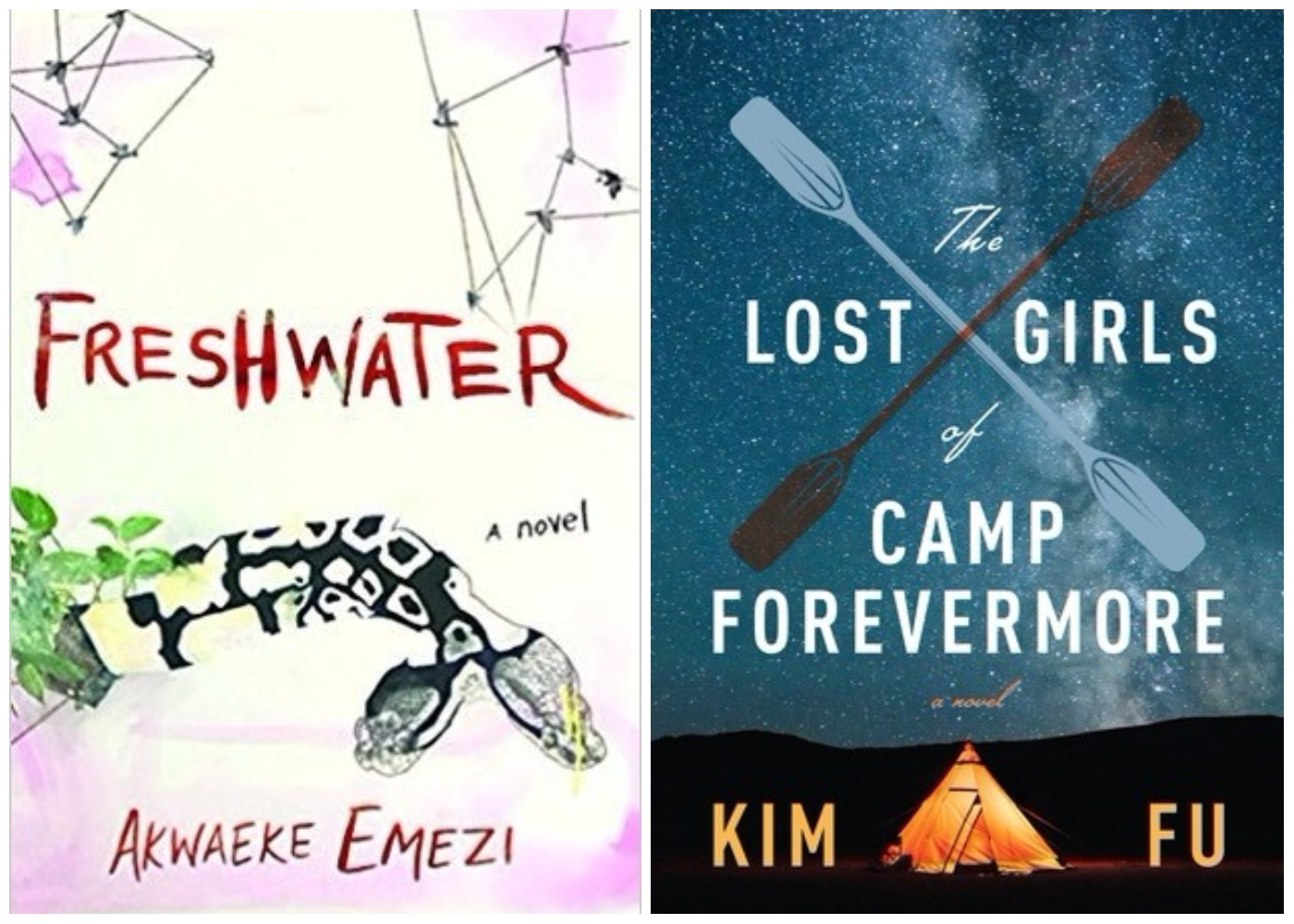 Picture of Freshwater The Lost Girls of Camp Forevermore Books