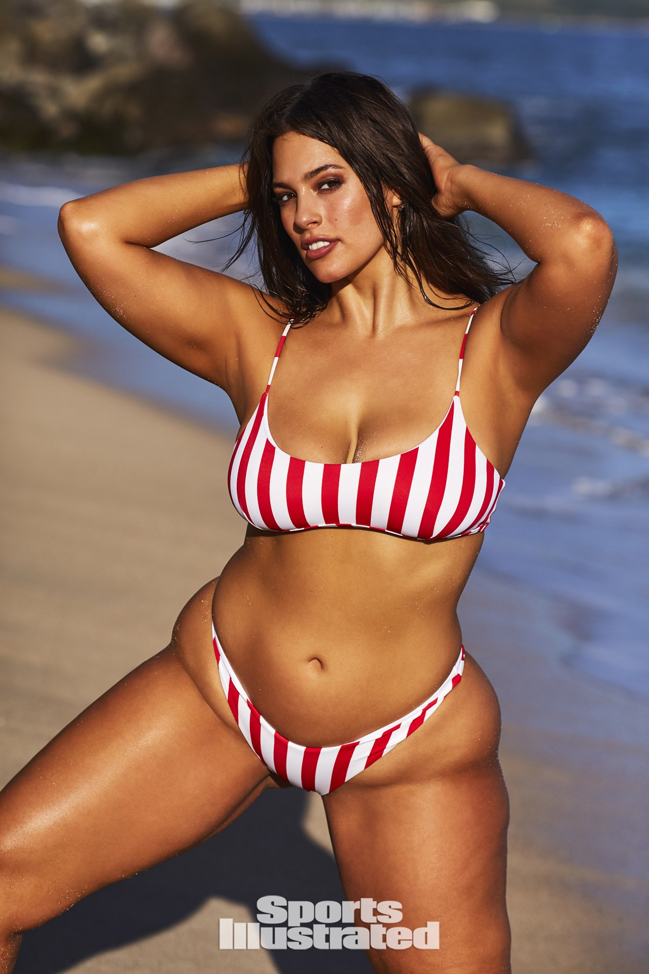Ashley Graham Photos From Her 2018 Sports Illustrated Photo Shoot Hellogiggles