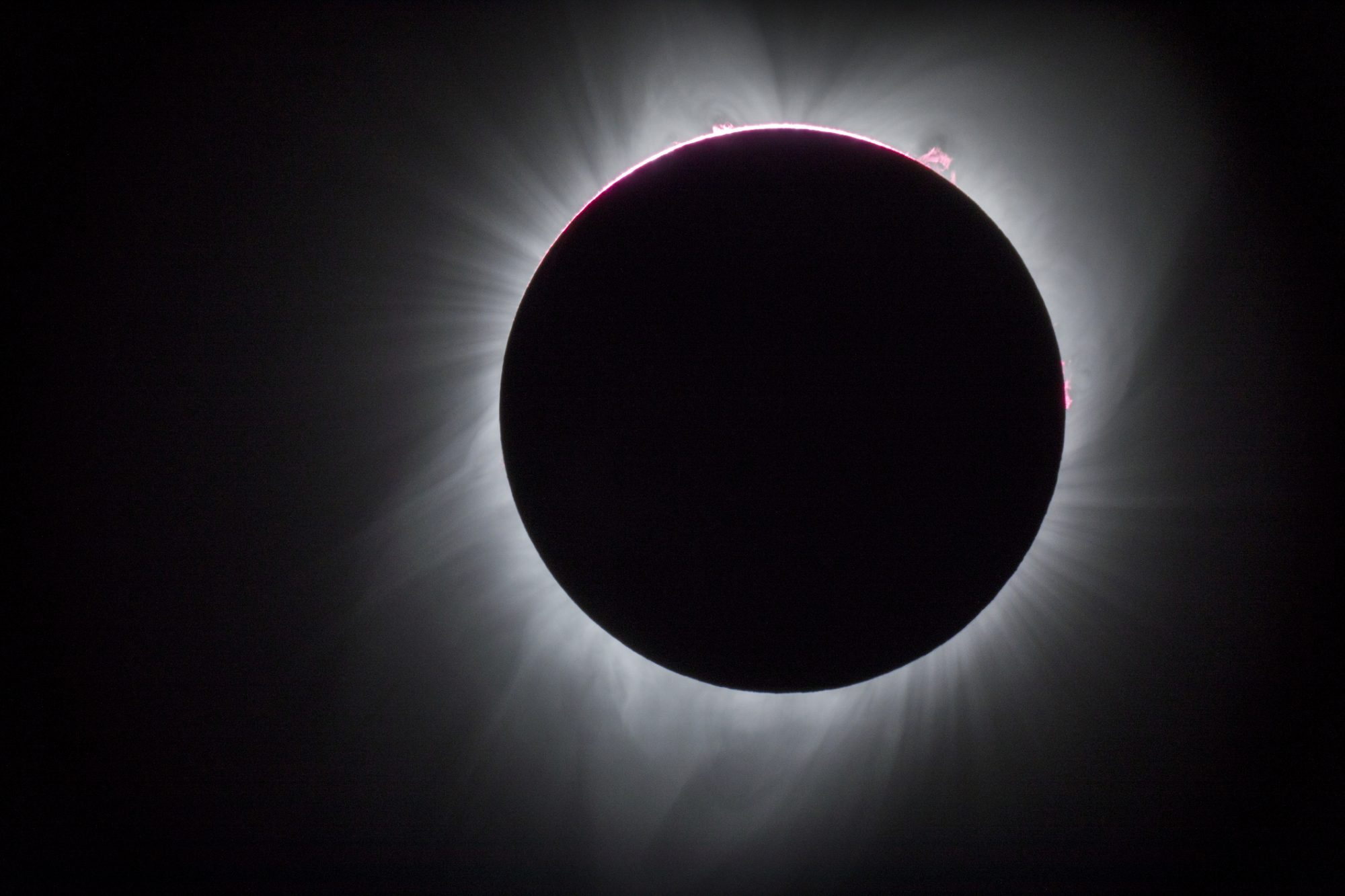 Total Solar Eclipse, Oregon, USA
