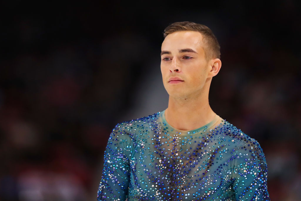 Picture of Adam Rippon Figure Skating