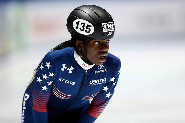 Maame Biney, 2018 Winter Olympics