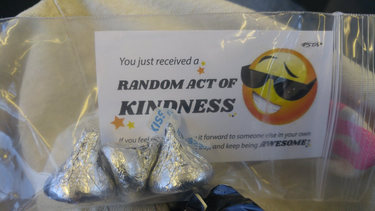 Photo of Random Gift on Random Acts of Kindness Day