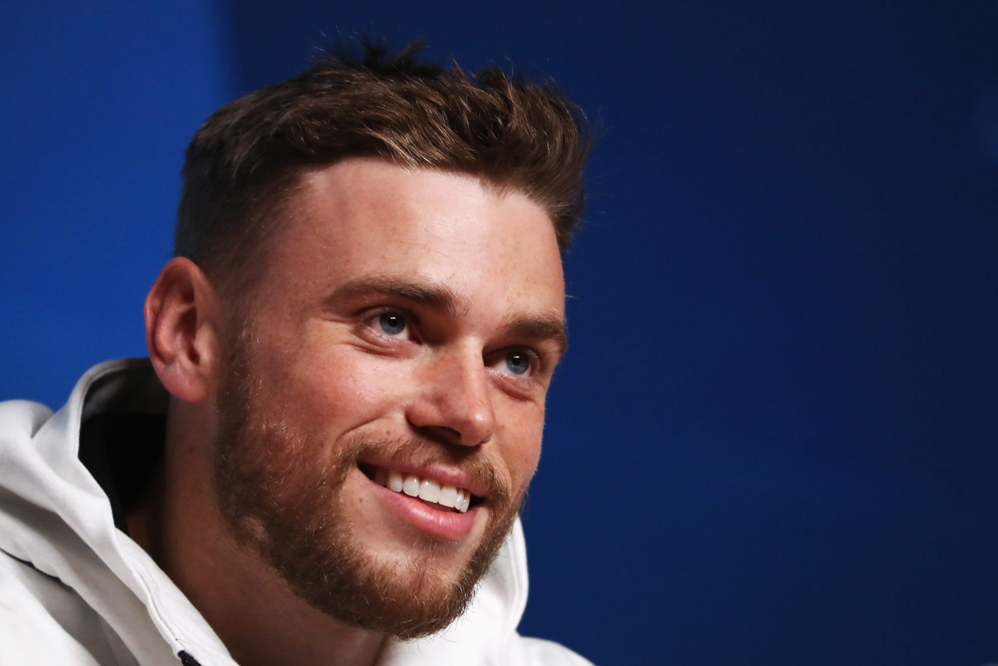 Photo of Gus Kenworthy at the 2018 Winter Olympics