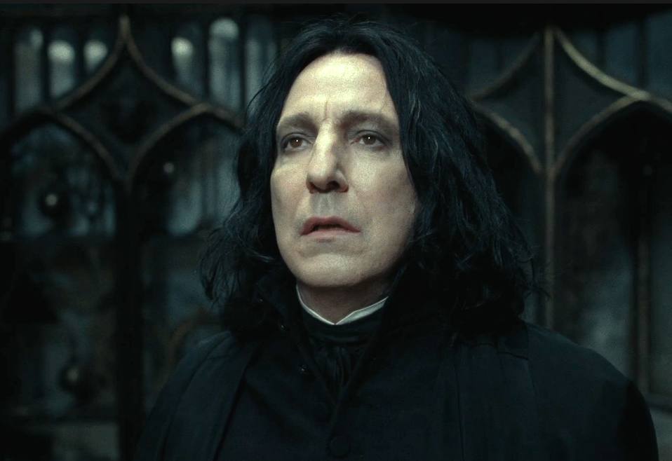"""Alan Rickman as Snape in """"Harry Potter and the Deathly Hallows – Part 2"""""""