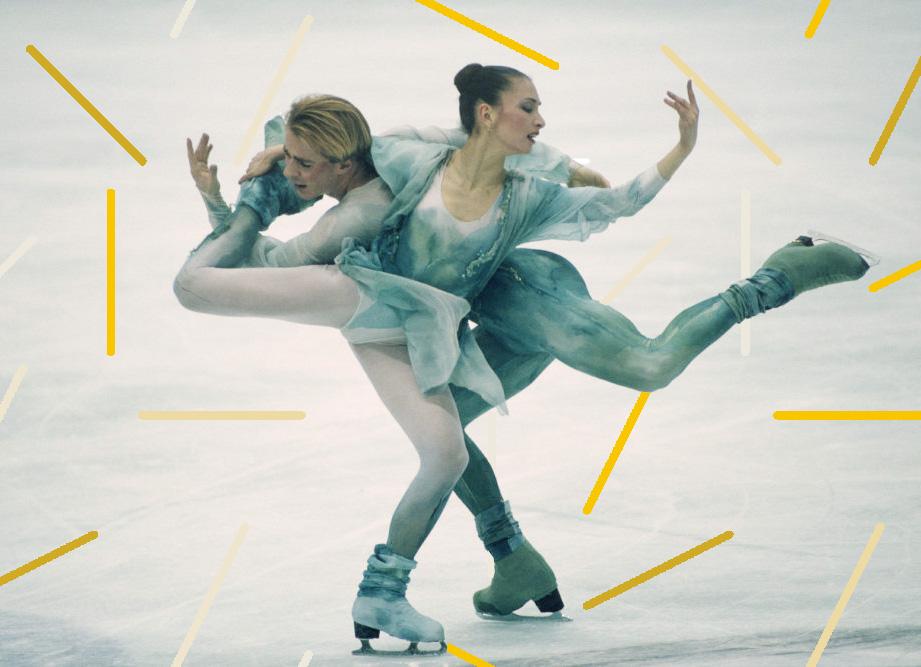 Figure Skating - Maya Usova and Alexander Zhulin