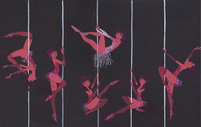 Strippers, illustration