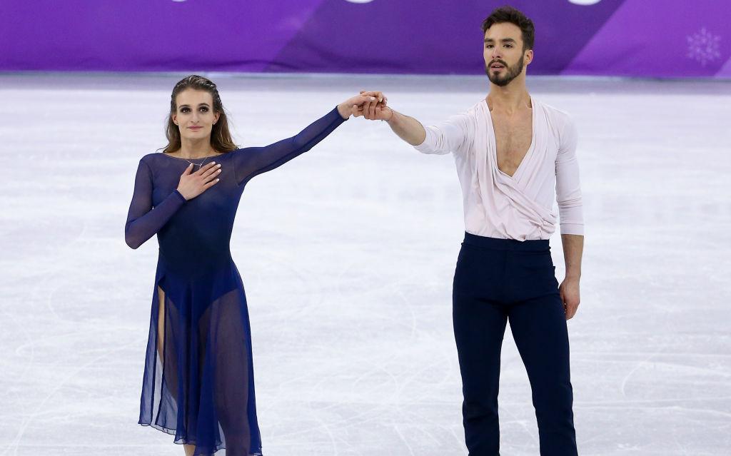 Gabriella Papadakis wins silver