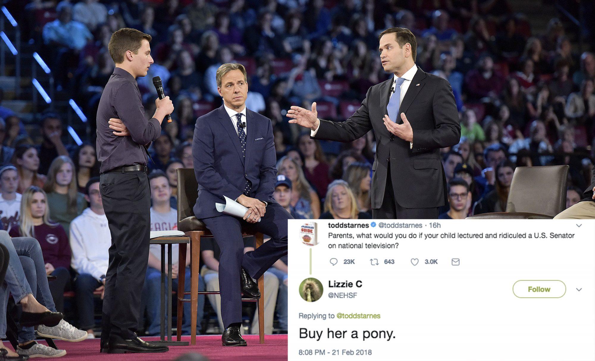 Marco Rubio ridiculed