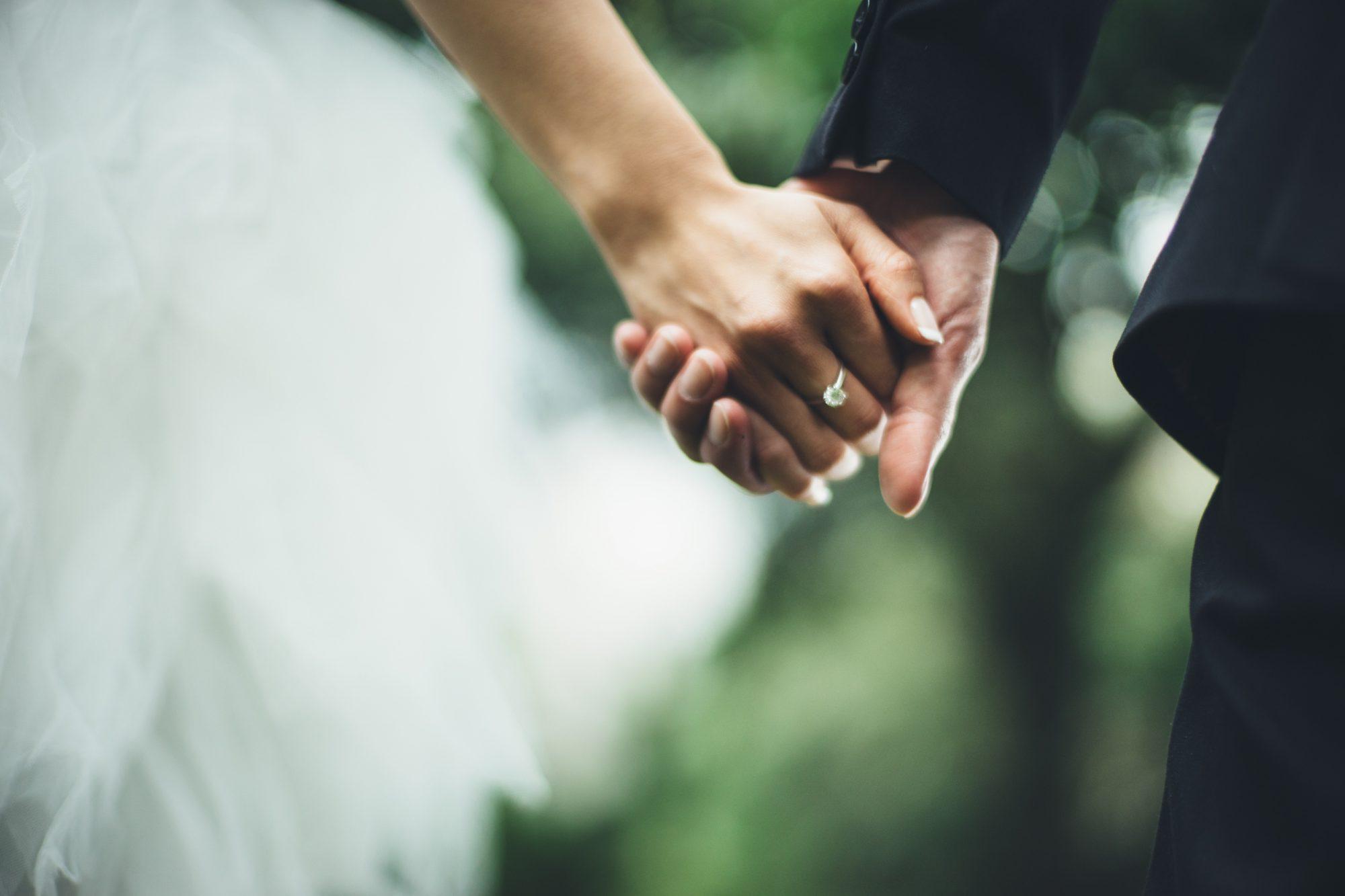 Brides love this non-white wedding dress color