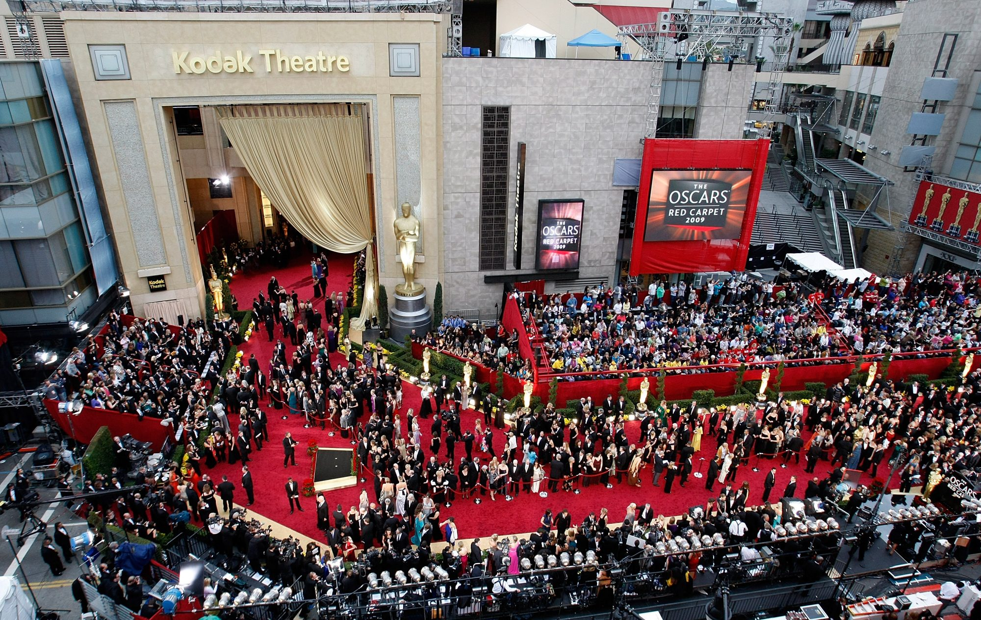 What is the total cost of the Oscars ceremony?