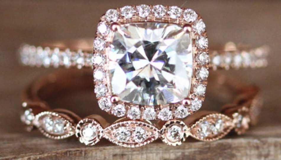 Moissanite engagement rings are more popular this year
