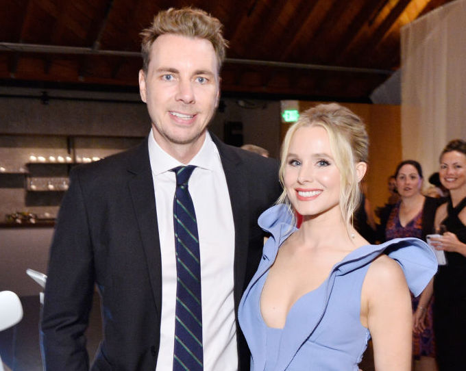 Picture of Kristen Bell and Dax Shepard