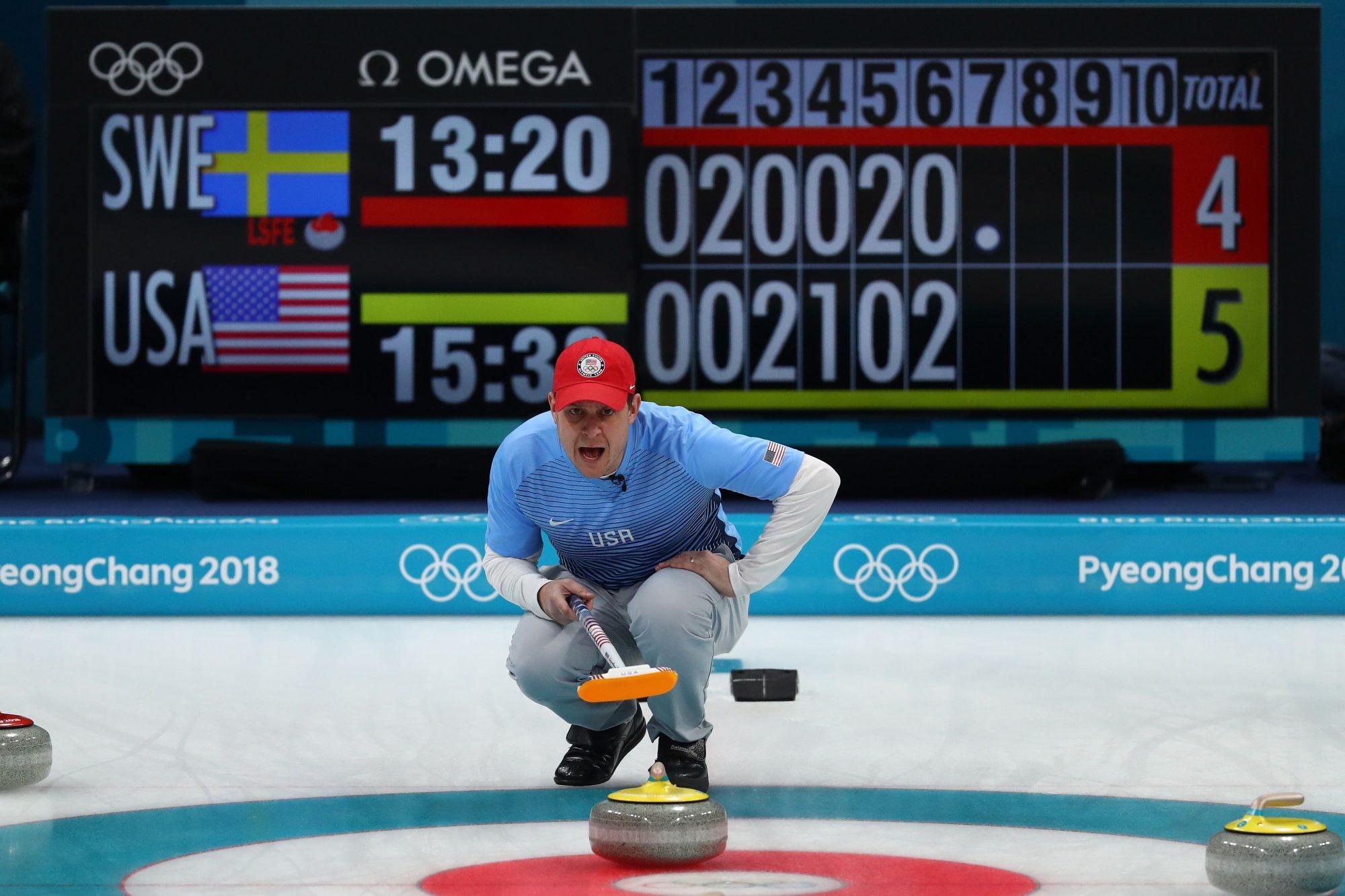 Photo of Team USA Men's Curling Athlete John Shuster