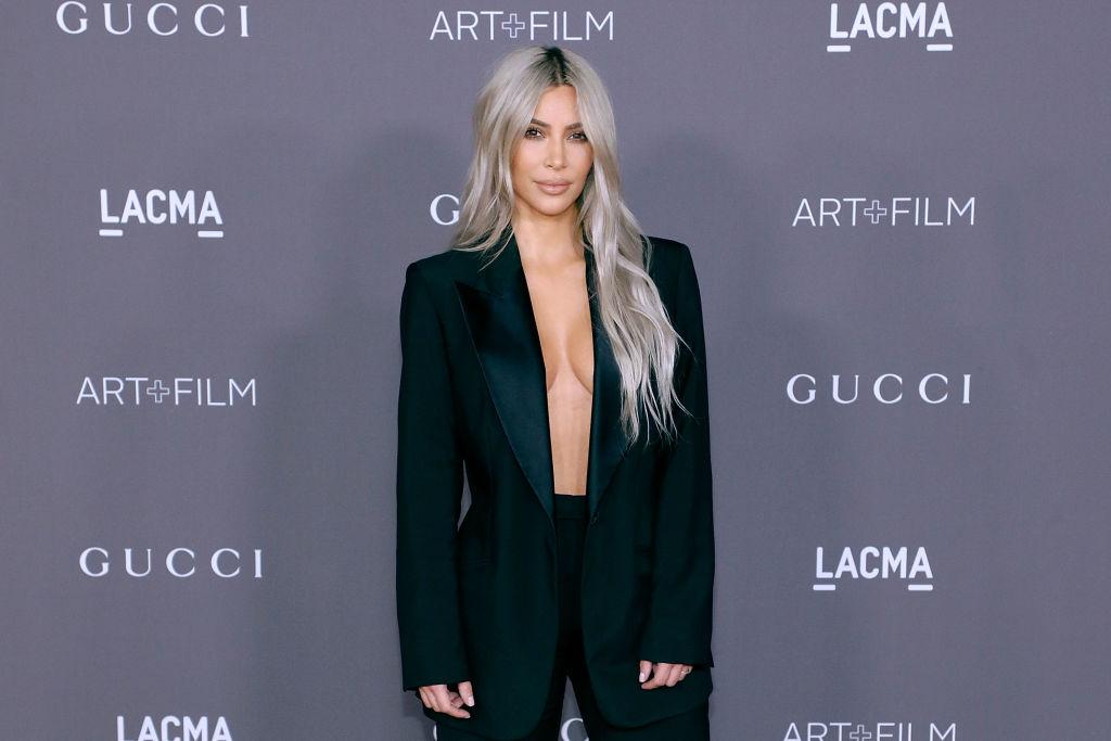 Picture of Kim Kardashian Pink Hair